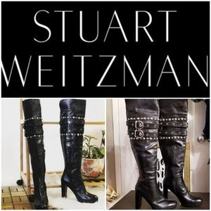 Stuart Weitzman Carnaby Over-the-knee boots
